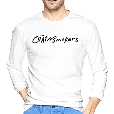 Eshanqulon The Chain-Smokers Music for Men's Fashion Long T-Shirt