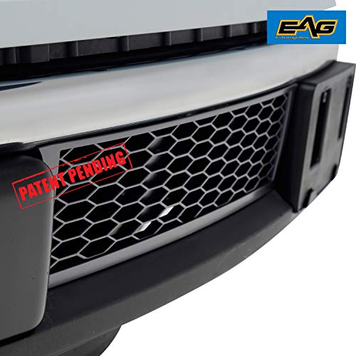EAG Lower Bumper Grilles Charcoal Gray Grill for 09-14 Ford F150 OE ()