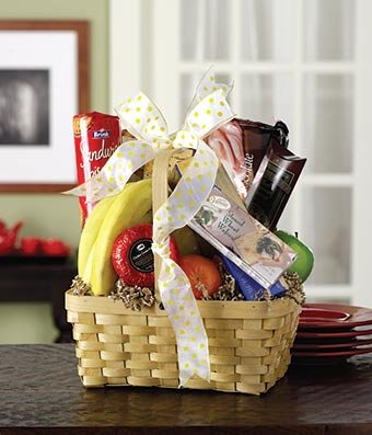 Sweet Treats Easter Basket - Same Day Dried Fruit Basket Delivery - Dried Fruit Gifts - Best Dried Fruit Tray- Mixed Dried Fruit - Dried Fruit and Nut Gift Baskets (Flower Fruit Delivery)