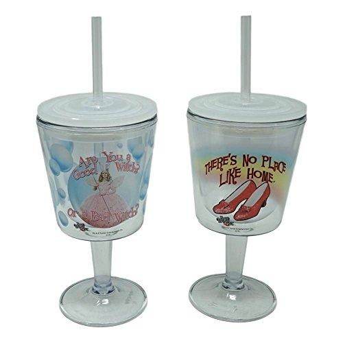 Wizard of Oz Wine Glass Goblets, BPA Free