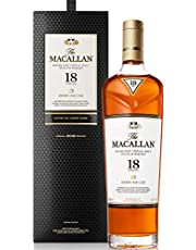 The Macallan Sherry Oak 18 Years Old Whisky, 700ml (Packaging may vary)