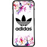 Coque Housse pour mobile logo adidas fleurs logo Etui Cover - iPhone 5 5s