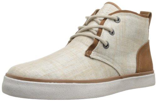 Marc New York Menns Eldridge Mote Sneaker Khaki / Kanel / Hvit