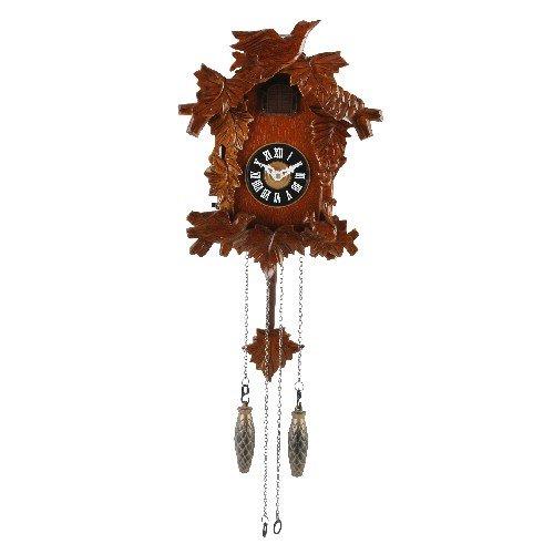 Wood Bird On Top Design Wooden Cuckoo Clock - 70cm Drop Anablep W6754