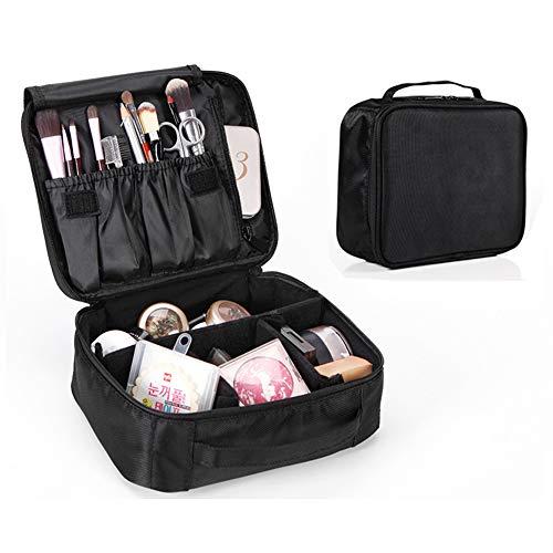 Dora Bridal Makeup Mini Train Case Cosmetic Bag Travel Potable Cosmetics Organizer,Waterproof Cosmetic Box Storage Makeups Toiletry Jewelry Digital Handbags