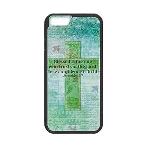 Cross Bible Verse Cross Green Case for iPhone 6