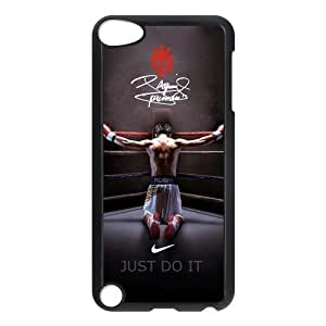 Vintage LOGO Manny Pacquiao Ipod Touch 5th Case Cover Boxing Give Us Kimberly Kurzendoerfer