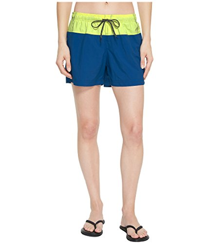 Columbia Women's Sandy River Color Blocked Short, Jewel, neon Light, Mx4