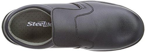 Portwest FW81 - Slip-On de seguridad S2 Zapato, color Blanco, talla 37 negro