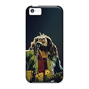 High Impact Dirt/shock Proof Case Cover For Iphone 5c (bob Marley)