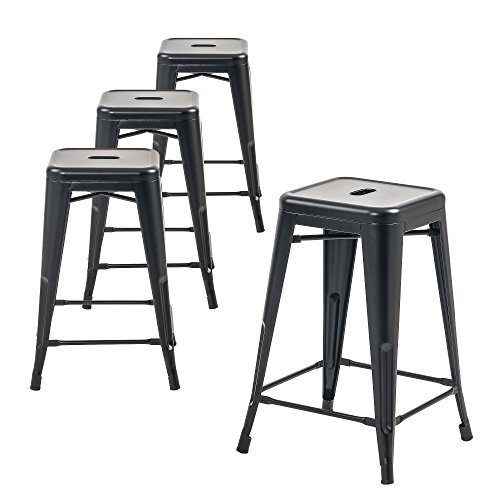 - Buschman Metal Bar Stools 24