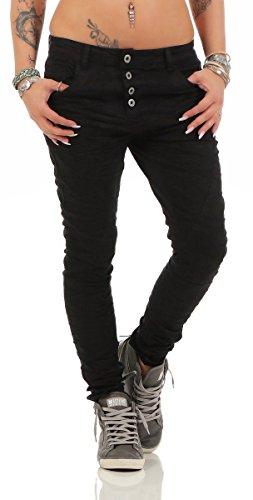 Fashion4Young Jeans Jeans Femme Jeans Jeans Jeans Schwarz2 Fashion4Young Femme Fashion4Young Schwarz2 Jeans YY5qfp