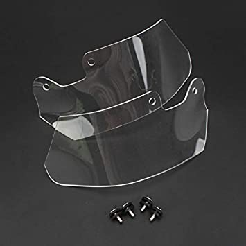 SODIAL WindScreen Windshield Slipstream Wind Deflector for Oil Cooled Model R1200GS R 1200 GS ADV Adventure 2004-2012 2011 Transparent