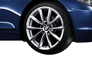"BMW Genuine 8Jx19"" V-Spoke 296 Front Alloy Wheel Rim (36 11 6 785 256)"