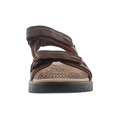 Kurt Men's Sport Sandal Three SoftMoc Brown Strap wAC5qdg