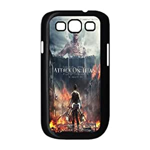 Qxhu Attack on Titan Hard Plastic Back Protective case for Samsung Galaxy S3 I9300
