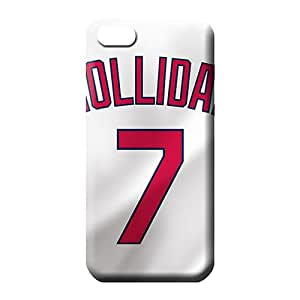 iphone 6plus 6p Classic shell Scratch-free High Quality phone cover skin st. louis cardinals mlb baseball