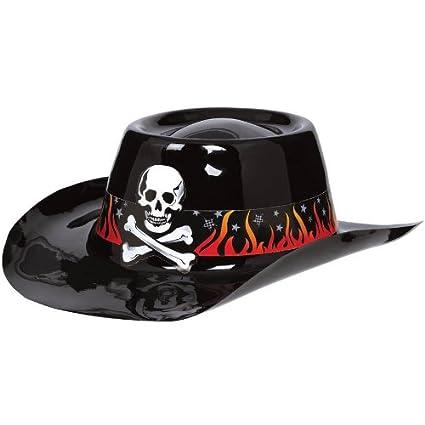 Amazon.com  Amscan Rock Star Cowboy Hat with Band  Toys   Games 80db823de47