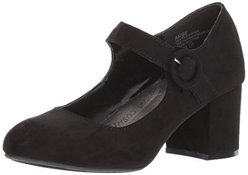 Suede Like Sandal Black Dress Jellypop Women's Ange wzfqPf40