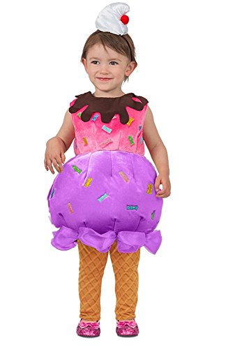 (Princess Paradise Ice Cream Sundae Costume,)