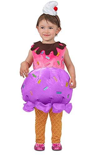 Princess Paradise Ice Cream Sundae Costume, -