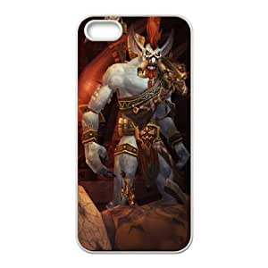iphone5 5s phone case White Vol'jin World of Warcraft WOW KKD7825448