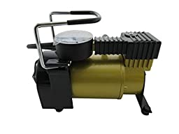 HARPOW Tyre Inflator 30mm Piston Air Compressor with light Air gauge