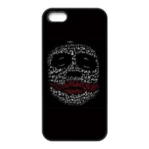 Dark Knight Joker Put a Smile On That Face iPhone 4 4s Cell Phone Case Black DIY GIFT pp001_8177655