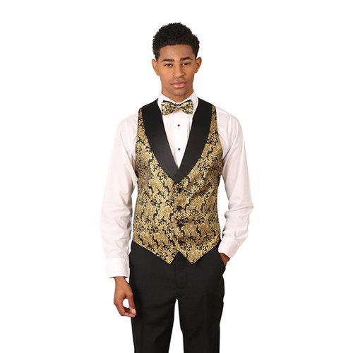 Tuxedo Vest Large Tie - 3