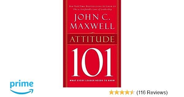 leadership 101 john maxwell summary