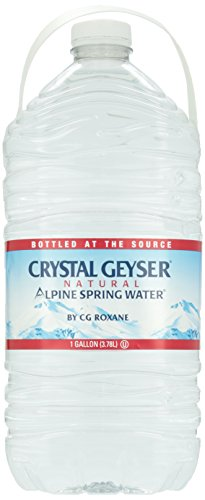 Crystal Geyser, Alpine Spring Water, Gallon (Spring Water compare prices)