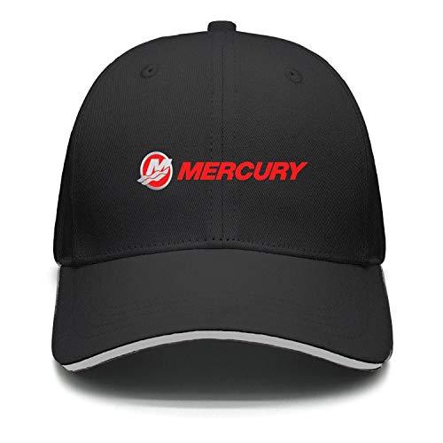 kseerbaball Fashion Cap Adjustable Mercury Marine Logo Dark red Cool Baseball Hat