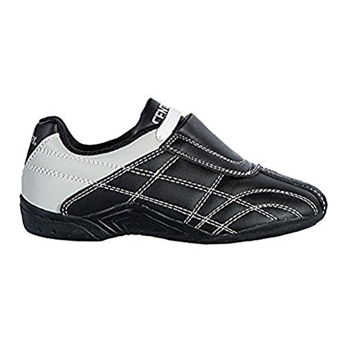 Century Lightfoot Martial Arts Shoes, Black, Size 7.5