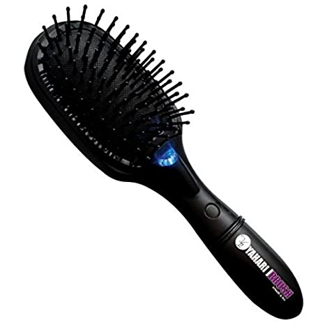 Italian Design Ionic Brush YAHIONBRUSH Cepillo Iónico, color negro: Amazon.es: Belleza