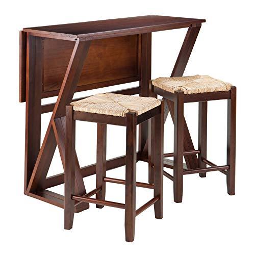 Harrington 3-Pc Drop Leaf High Table, 2-24