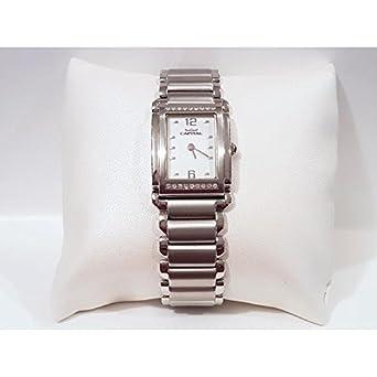 Uhr Capital Damen ax718-OIU Quarz (Batterie) Stahl Quandrante weiß Armband Stahl