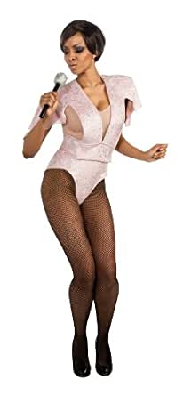 Secret Wishes Womens Rihanna Bodysuit Costume, Pink, X-Small