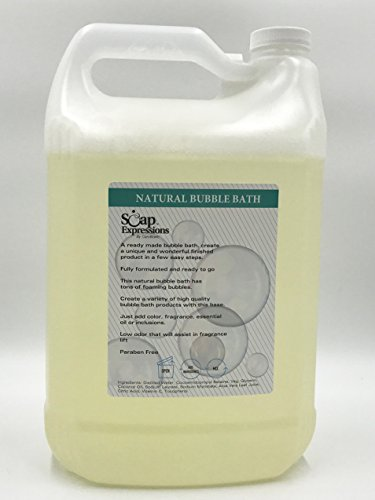 1 Gallon of Natural Bubble (Bubble Bath Base)