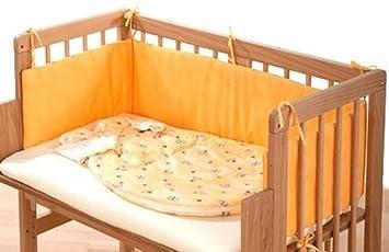 Alvi 40350 8005 nestchen apricot für beistellbett: amazon.de: baby