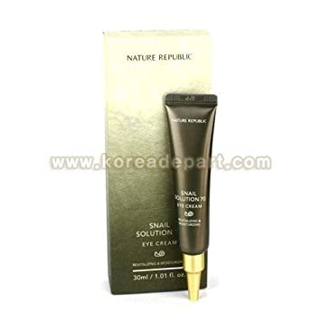 NATURE REPUBLIC Snail Solution 70 Eye Cream Made in Korea