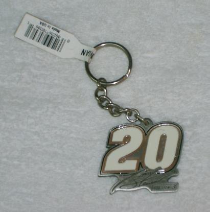 NASCAR #20 Tony Stewart Pewter Key (Stewarts Key)