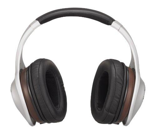 Denon AH-D7100 Music ManiacTM Over-Ear Headphones, (Denon Silver Headphone)