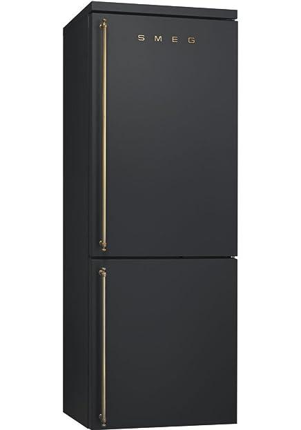 Smeg fa8003ao freistehend 264L 82L A + anthrazit Kühlschrank mit ...