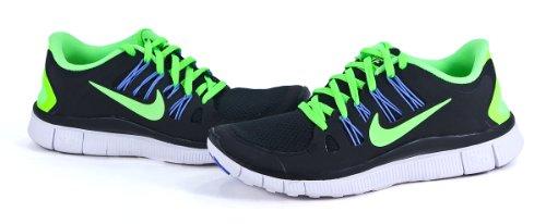Nike Dames Vrij 5.0+ Zwart / Volt / Wit 580591 034 Maat 6