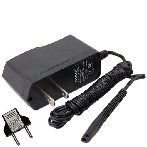 Braun Series 7, Pulsonic, Prosonic, Active Power Model 760cc, 9585, 9785 Type 5673 Razor/Shaver Charger Power Supply Cord + Euro Plug Adapter ()
