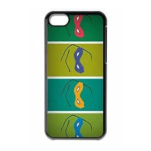 Comics Teenage Mutant Ninja Turtles Masks iPhone 5c Cell Phone Case Black 91INA91197559