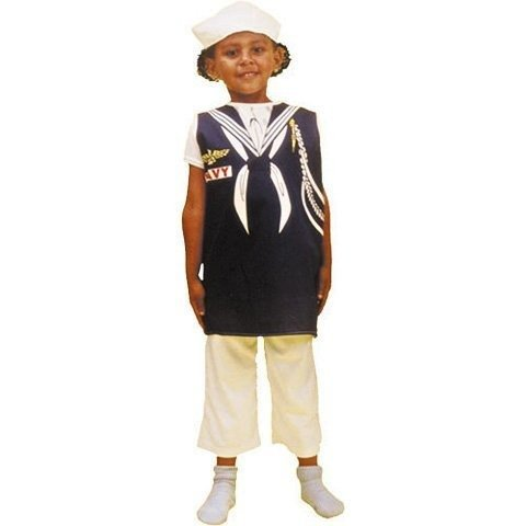 Occupation Costumes (Dexter Early Childhood Occupations Children's Costume - Sailor)