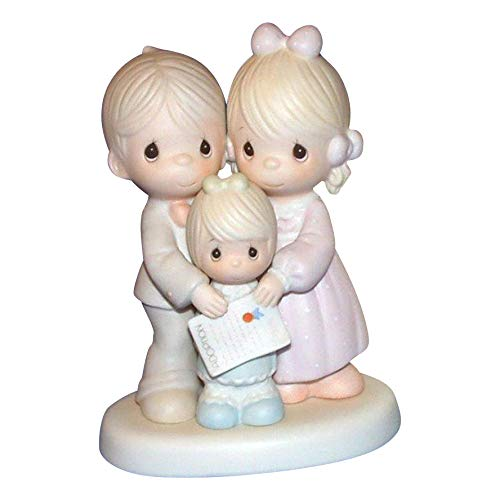 Precious Moments Figurine 100145 God Bless The Day We Found You