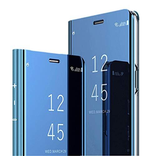 Hülle für Samsung Galaxy S10 Hülle,Samsung Galaxy S10 Handyhülle Spiegel Schutzhülle Stand Flip Tasche Case Cover für Samsung Galaxy S10 sStand Mirror Handyhülle Leder Hülle für Galaxy S10