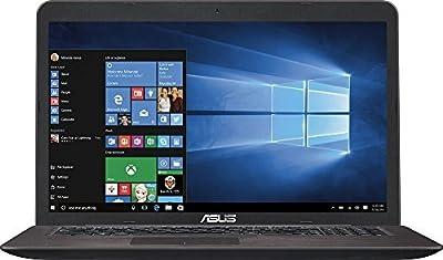 2017 Newest ASUS 17.3-Inch Full HD (1920 x 1080) Premium Laptop, Intel Core i5-6200U Processor, 12GB DDR4 RAM, 1TB HDD, NVIDIA GeForce 950M 2GB, SuperMulti DVD, HDMI, Bluetooth, VGA, Wifi, Windows 10